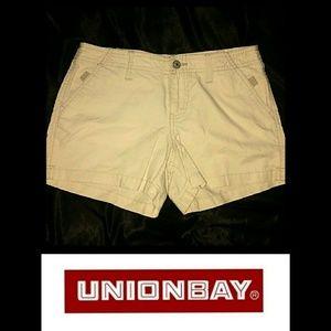 Union Bay Shorts in Light Khaki Size 3